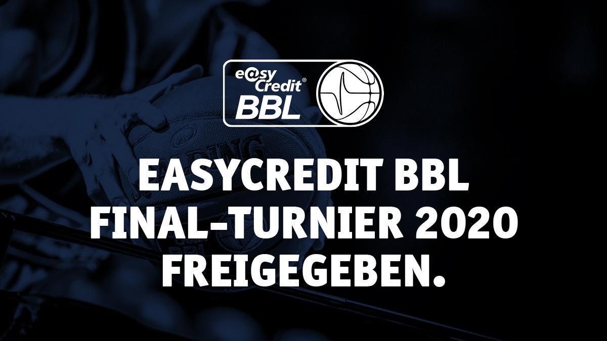 Befürwortung des BBL-Konzepts durch die Bayerische Staatsregierung / Wiederaufnahme der Saison ermöglicht / easyCredit BBL Final-Turnier 2020 findet im Juni in München statt