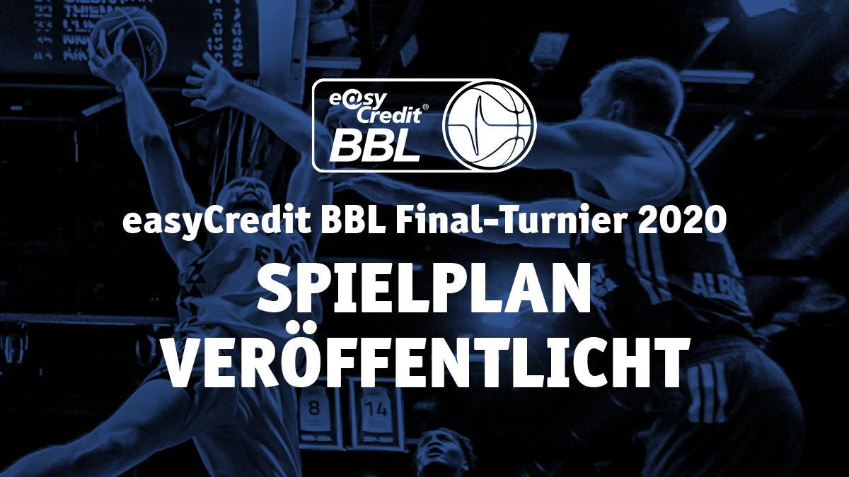 Spielplan für das easyCredit BBL Final-Turnier 2020 steht fest / 35 Spiele ab dem 06. Juni 2020 / Finalrückspiel um die Deutsche Meisterschaft am 28. Juni 2020